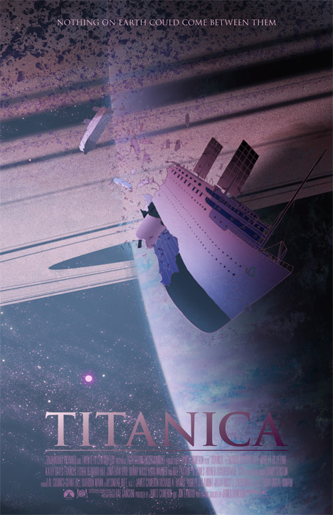 Titanica Sci-fi Movie Poster