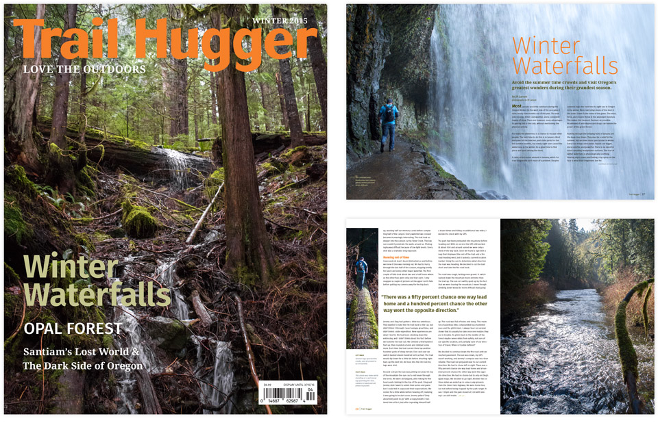 Trail Hugger Cover and Spreads